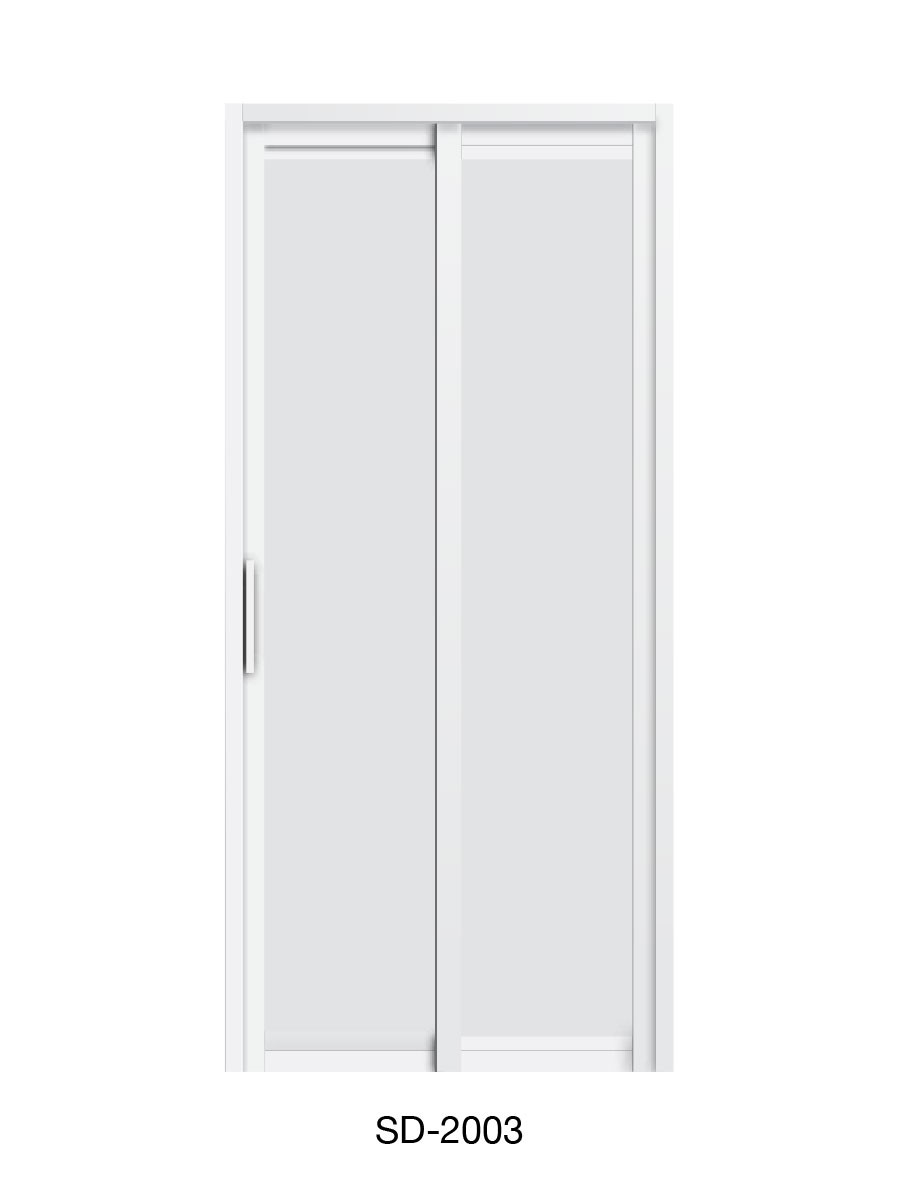 PVC Slide & Swing Toilet Door SD-2003